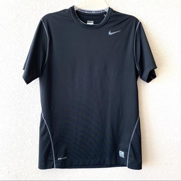 995036d7 Nike Shirts | Mens Pro Drifit Fitted Workout Tshirt | Poshmark